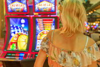 Woman slot machines