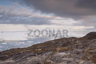 Landschaft in Ilulissat in Grönland