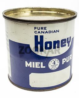 Honey metal box