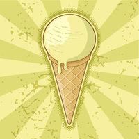One Ball Ice Cream Cone
