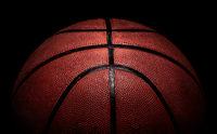Part of basketball ball