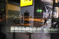 London, Grossbritannien, Passagiere am Terminal 5 auf dem Flughafen London Heathrow