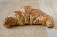 A butter croissant