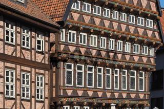 Hildesheim - Historischer Marktplatz, Knochenhaueramtshaus, Deutschland
