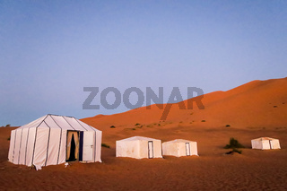 house in desert, photo as background