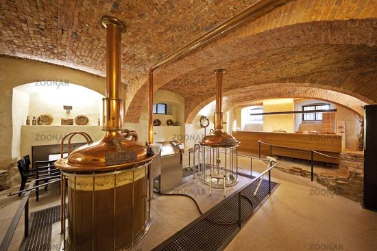Brewery, Dalheim Monastery, Lichtenau, North Rhine-Westphalia, Germany, Europe