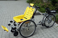 E-Trike with seat for people with handicap