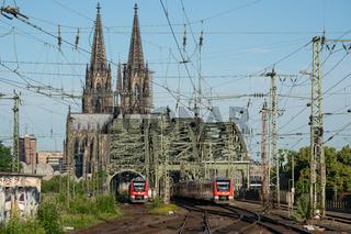 Urban infrastructure, railway system