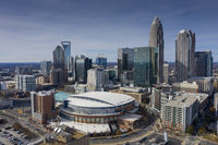 Aerial Views Of The City Of The 2020 Republican National Convention Spectrum Center Charlotte NC