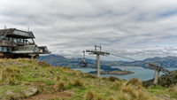 Christchurch Port Hills Gondola, New Zealand.