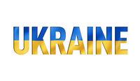 ukrainian flag text font