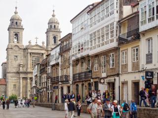 San Francisco Street - Santiago de Compostela