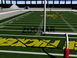 Stadion für Sportveranstaltungen