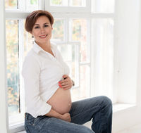 Pregnant Woman's Happiness - Waiting for a Baby.