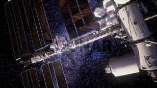 International Space Station in outer space