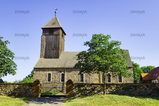 Church Leuenberg, Hoehenland, Brandenburg, Germany