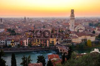 View of Verona city