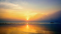 Sunset at Nathon Beach Viewpoint