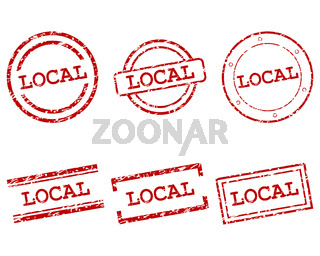 Local Stempel - Local stamps