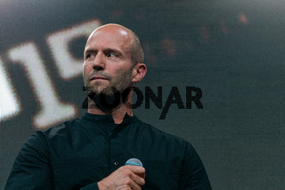 COLOGNE, GERMANY - JUN 28th 2019: Jason Statham at CCXP Cologne