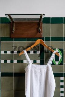 Badezelle in der Jugendstilanlage Sprudelhof