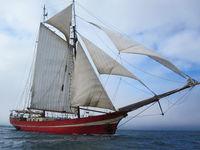 Sailship at Sea