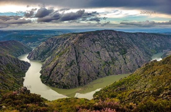 Canyon de Rio Sil in Galicia, Spain