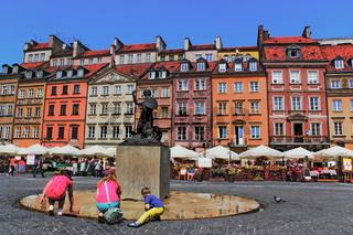Altstadtmarkt mit Meerjungfrau