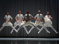 Vitebsk. Belarus. November 23, 2019: Dance performance