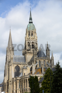 Kathedrale in Bayeux, Normandie