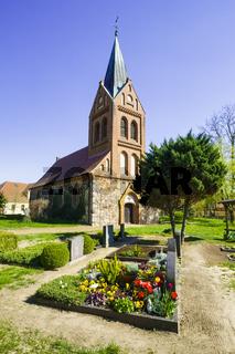 Dorfkirche Liepe, Gemeinde Nennhausen, Brandenburg, Deutschland