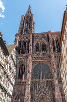 view of the Strasbourg Cathedral