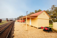 Muckleford Train Station Victoria Australia