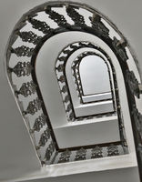 Spiral staircase in a residential house