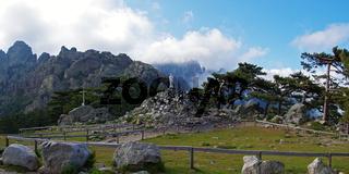 Marienstatue am 'Col de Bavella' - Korsika