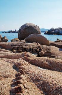 Felsformationen - Palombaggia - Tamaricciu - Korsika
