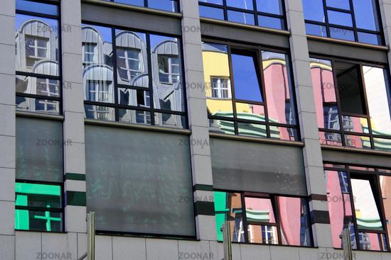 facade reflection