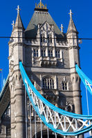 Tower Bridge, close up