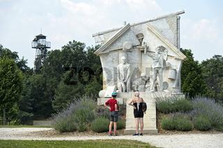 Denkmal Der Durchbruch - Statue der Europäischen Freiheit, Fertörakos, Ungarn