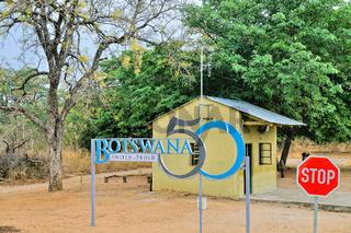 Grenze Botswana