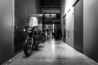 Motorcycle of Moto Guzzi V1000 Convert.