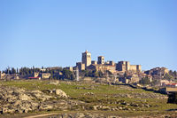 View to Trujillo, a very beautiful, medieval town