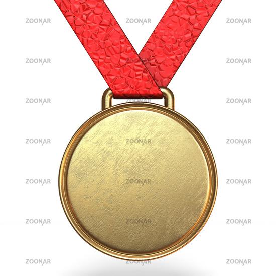 Golden medal 3D