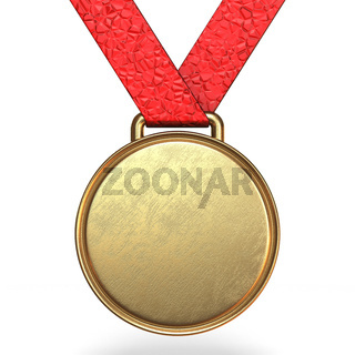 Golden medal 3D