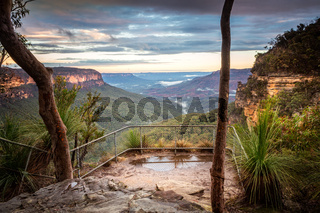 Lookout in Blue Mountains Australia
