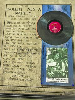 Bob Marley memorabilia, Jamaica, West Indies