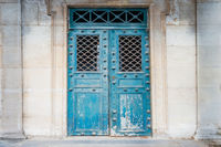 Old ancient front door