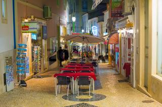 Lagos old town street restaurants