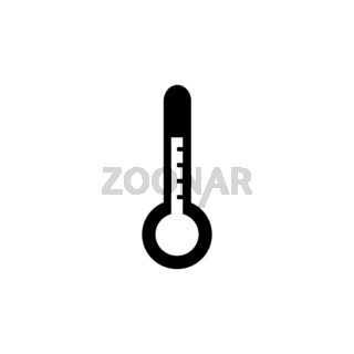 Thermometer. Isolated icon. Weather vector illustration