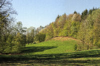 Landscape around the Heppenstein